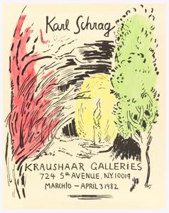 Karl Schrag, Kraushaar Galleries, NYC