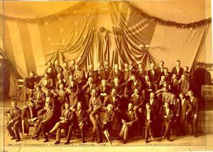 YMCA Secretaries Conference, Toronto, 1876