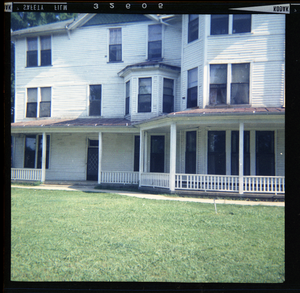 Women's dorm, Rust College, where female teachers stayed during Freedom Summer