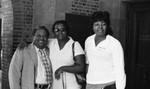 A. Philip Randolph seminar attendees posing together, Los Angeles, 1972