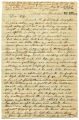 Correspondence from Robert Rutledge to Mary Minerva Rutledge, April 1, 1863