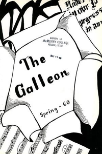 The Galleon, Volume 36, Number 2, Spring 1960 The Galleon