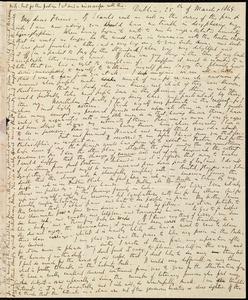 Letter from Richard Davis Webb, Dublin, [Ireland], to Caroline Weston, 25th of March 1849