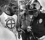 Anti-Klan and Pro-Klan clash in Fontana