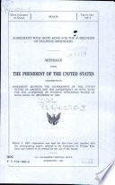 Agreement with Hong Kong for the surrender of fugitive offenders : message from the President of the United States transmitting agreement between the Government of the United States of America and the Government of Hong Kong for the surrender of fugitive offenders signed at Hong Kong on December 20, 1996