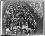 Part of audience at FEPC [Fair Employment Practices Committee] Mass Meeting, January 16, 1946, Mount Vernon Place Methodist Church (White)