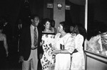 Mr. & Mrs. Bill Cosby at charity event, Los Angeles, 1982