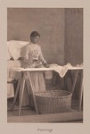 Thumbnail for Races, Negroes: United States. Virginia. Hampton. Hampton Normal and Industrial School: Agencies Promoting Assimilation of the Negro. Training Negro Girls in Domestic Science. Hampton Normal and Agricultural Institute, Hampton, Va.: Ironing.