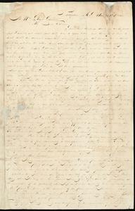 Thumbnail for Letter from Henry Egbert Benson, Providence, R.I., to William Lloyd Garrison, Aug. 30th, 1833