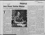 Jazz stars' guitar maker: local guitar counterfeiter turned craftsman