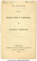 Slavery and the American Board of Commissioners for Foreign Missions, 1859