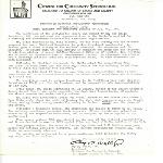 Minutes: Citizens for Community Schools, Inc.