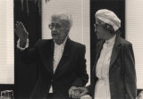 Virginia Durr and Rosa Parks.