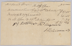 Account of taxable property, including enslaved persons, owned by Edward Rouzee