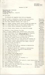 Letter from Christine O. Jackson to Eileen Muir, November 14, 1967