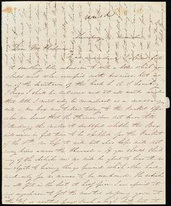 Letter from Isabel Jennings, [Cork, Ireland], to Maria Weston Chapman, Thursday, 14 November [1844]