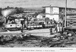 Chemin de fer de Khayes a Bafoulabé. - Station de Khayes