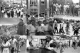 "Images of the ""March Against Fear"" through Mississippi, begun by James Meredith."
