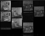 Set of negatives by Clinton Wright including Les Femmes Douze at Madison, and Larry's Sight and Sound, 1971