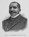 Prof. T. W. Johnson, Cincinnati, Ohio