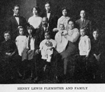 Henry Lewis Flemister and family