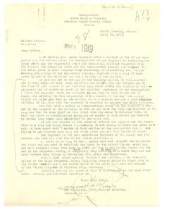 Letter from George W. Perry to Editor of the Crisis