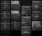 Set of negatives by Clinton Wright including A.M. & N. Alumni at Honda, NAACP scholarship, Patricia Davis - Dance teacher at Doolittle, and Little League baseball - Aaron Williams, 1971