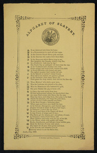 Alphabet of slavery
