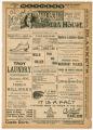 """Hoss and Hoss"" theater program, Bijou Opera House, Minneapolis, Minnesota"