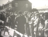 """""""Berlin Wall"""" demonstration in Selma, Alabama, during the week of March 7, 1965."""