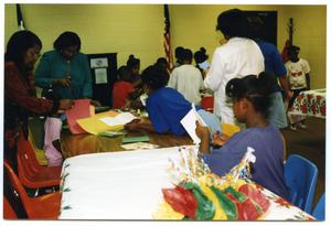 [Students with Craft Projects During Christmas Party] San Antonio Chapter of Links Records