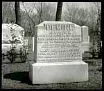 Rheuben H. Deming grave marker