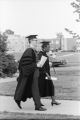 Gwendolyn Brooks was an American poet, author, and teacher, the first African American to win the Pulitzer prize. Brooks visited IWU five times between 1972 and 1999. Brooks and President Eckley headed to the 1973 commencement.