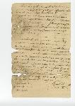 Bill of sale of slave from Jackson Turner to Calvin Spencer