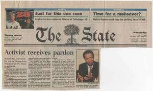 """Activist receives pardon"""