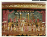 Photograph showing a production of Pzazz! 70 staged by Donn Arden, Desert Inn Hotel, Las Vegas, circa 1970
