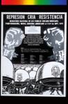 Represion Cria Resistencia, Announcement Poster for