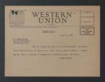 "Editorial Files, 1891-1952 (bulk 1917-1952). Working Editorial Files, 1935-1952. ""Calling America"" Series, 1939-1948. Locke, Alain, 1946-1947. (Box 193, Folder 1517)"