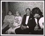 [Rosa Parks with Los Angeles Mayor, Tom Bradley, his wife Ethel Bradley (far left) and Congresswoman Maxine Waters (far right) at the Black Women's Forum salute to Parks, Los Angeles, California]