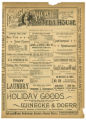 """Kidnapped"" theater program, Bijou Opera House, Minneapolis, Minnesota"