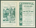 St. Patrick's Day Gone With the Wind movie program