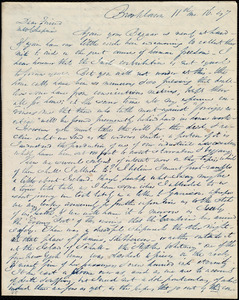Letter from Richard Allen, Brooklawn, to Maria Weston Chapman, 11th mo[nth] 16 [day] [18]47