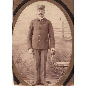 African-American man in uniform