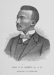 Prof. B. W. Arnett, Jr., A. B