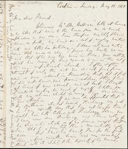 Letter from Richard Davis Webb, Dublin, [Ireland], 1851 Mar[ch] 18
