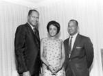Tom Bradley with Vivian and Vernon Strange