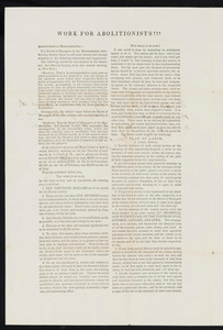Letter from A. A. Phelps for Massachusetts Anti-slavery Society to Hannah C. Fifield, Jun. 1839