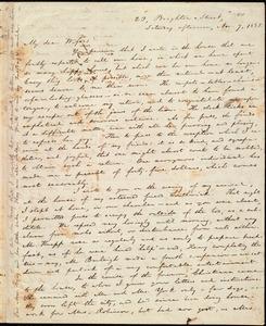 Letter from William Lloyd Garrison, 23 Brighton, Street, [Boston, Mass.], to Helen Eliza Garrison, Saturday afternoon, Nov. 7, 1835