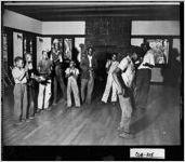 [Photograph of Marietta Country Club interior, Marietta, Cobb County, Georgia, ca. 1941]