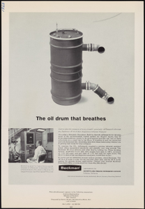 The oil drum that breathes